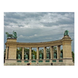 Colonnade of Hungary's Heroes Postcard