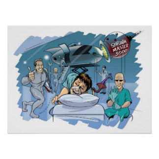"""""""Colonoscopy: A Fabulous Voyage"""" From Emil Farful Poster"""