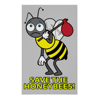 Colony Collapse Disorder: Save the Honeybees! Poster