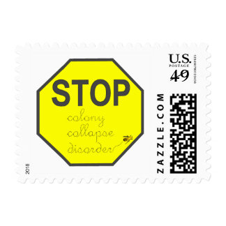 Colony Collapse Disorder:  Stamps
