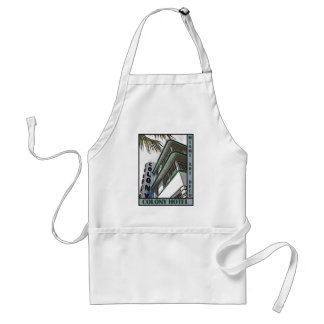 Colony Hotel Adult Apron