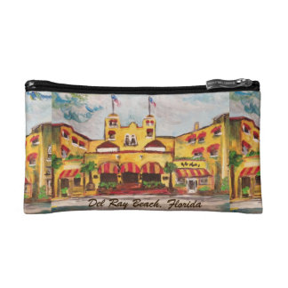 Colony Hotel, Del Ray Beach Florida Painted bag