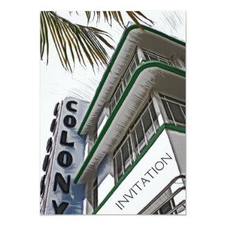 Colony Hotel, Miami, FL Card