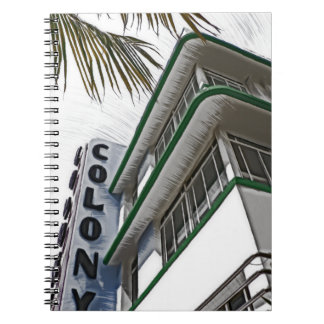 Colony Hotel, Miami, FL Notebook