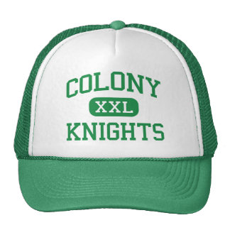 Colony - Knights - High School - Palmer Alaska Trucker Hat