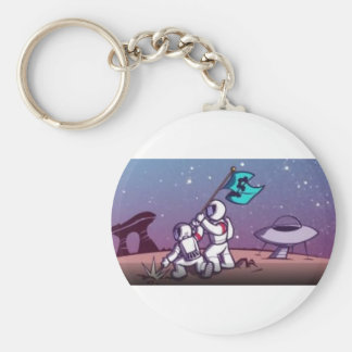 Colony of Gamers Basic Round Button Keychain