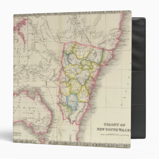 Colony of New South Wales 3 Ring Binder