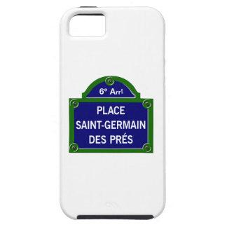Coloque DES Pres, placa de calle de Santo-Germán iPhone 5 Carcasas