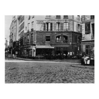 Coloque Gozlin, París c.1865 Postal
