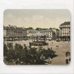 Coloque la Alsacia-Lorena, Lorient, obra clásica P Alfombrillas De Raton