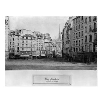 Coloque Maubert del DES Carmes, París de Marche Postal