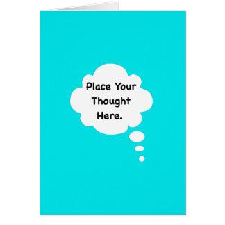 Coloque su gráfico divertido del humor del tarjeta de felicitación