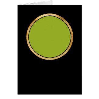 Color-01C- 9CB227 Card