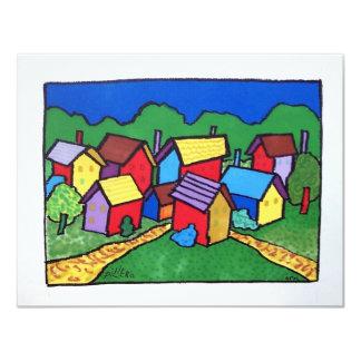 """Color 10-8 de Vermont por Piliero Invitación 4.25"""" X 5.5"""""""
