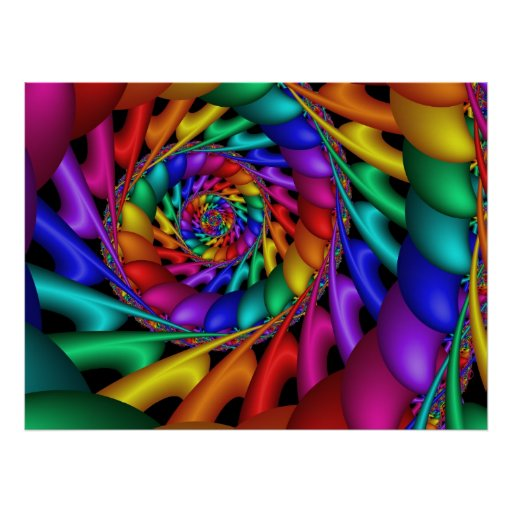 Color 11 Abstract Art Print