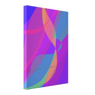 Color 14 del invierno de la estación del arte cont lienzo envuelto para galerías