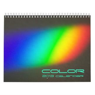 Color 2013 Calendar
