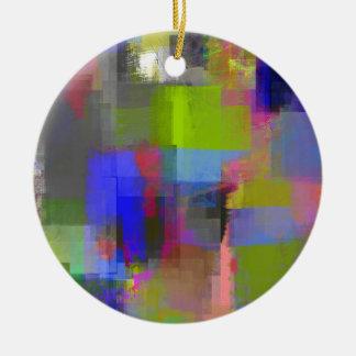 color (23) .jpg abstractos adorno navideño redondo de cerámica