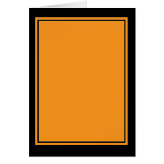 Color-23D-F7941D Tarjeta De Felicitación