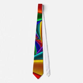 Color 25 Fine Fractal Art Neck Tie