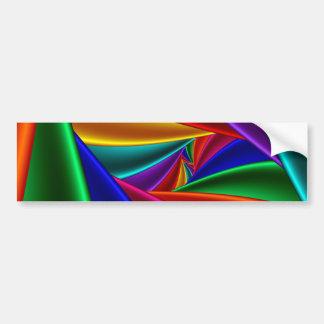 Color 25 pegatina de parachoque