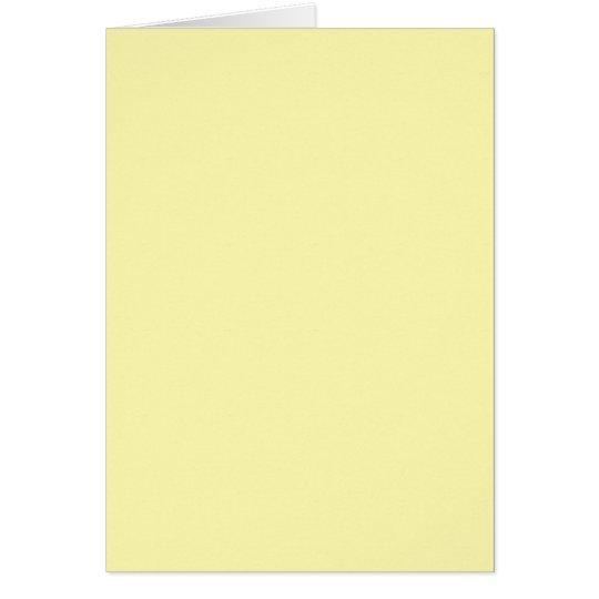 Color-25F-FFFBB2 Card