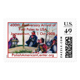 color 2, 400th Anniversary Arrival... - Customized Stamp