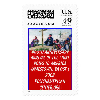 color 2, 400th AnniversaryArrival ... - Customized Postage Stamp