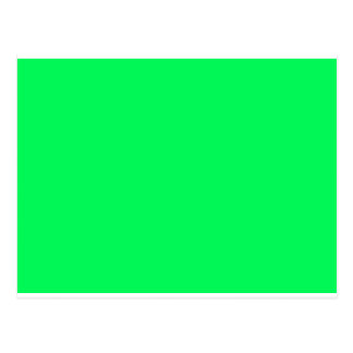 Color 2  Green Green Visual Identifiers Color Only Postcard