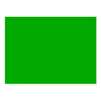 Color 2 - Very Green Visual Identifiers Color Only Postcard
