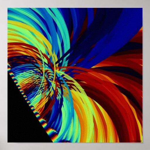 Color-3 salvaje póster