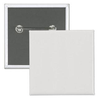 Color a juego fresco del platino pin cuadrada 5 cm