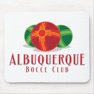 Color ABQ Bocce Club Mouse Pad