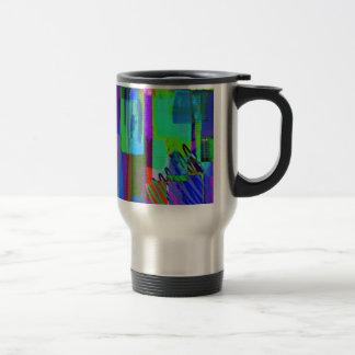 color abstract (2) travel mug