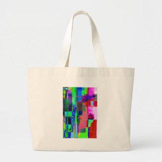 color abstract (34) jumbo tote bag