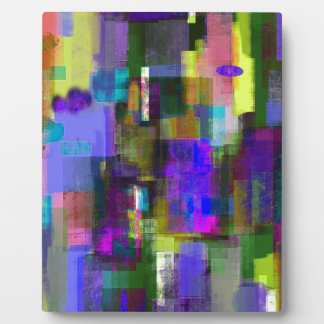 color abstract (3) plaques