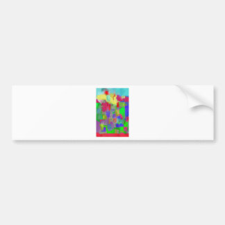 color abstract (6) bumper sticker