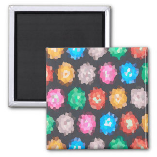 Color Abstract Background Magnet