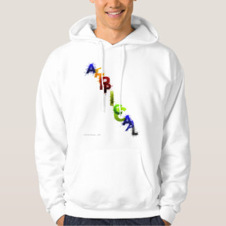 COLOR ABSTRACTION HOODIE