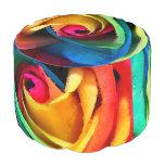 Color abstracto del arco iris subió
