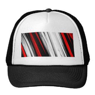 color abstracto del diseño del arte de la diversió gorras de camionero