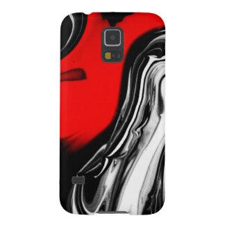 color abstracto del diseño del arte de la funda galaxy s5