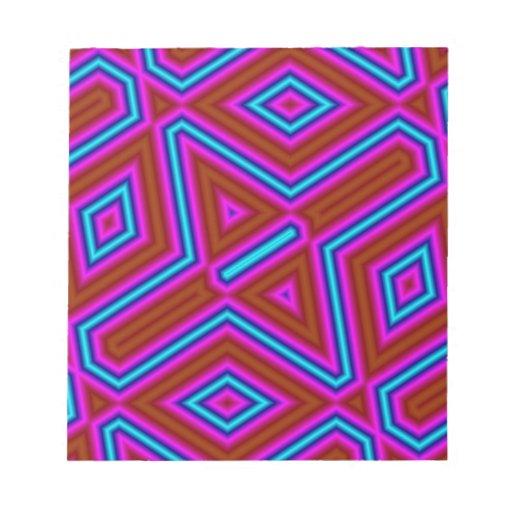Color abstracto del modelo 3 bloc
