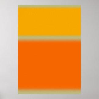 Color abstracto impresiones