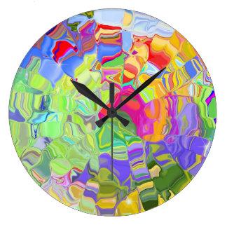 Color abstracto relojes