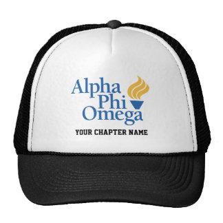 Color alfa de Omega de la phi - antorcha Gorro