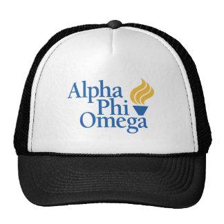 Color alfa de Omega de la phi - antorcha Gorras