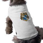Color alfa de Omega de la phi - escudo Ropa De Mascota