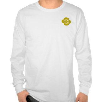 color amarillo de lunes del mokkou camisetas