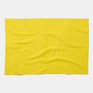 Color amarillo toallas
